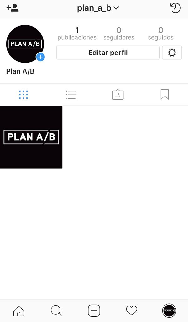 Perfil personal en Instagram