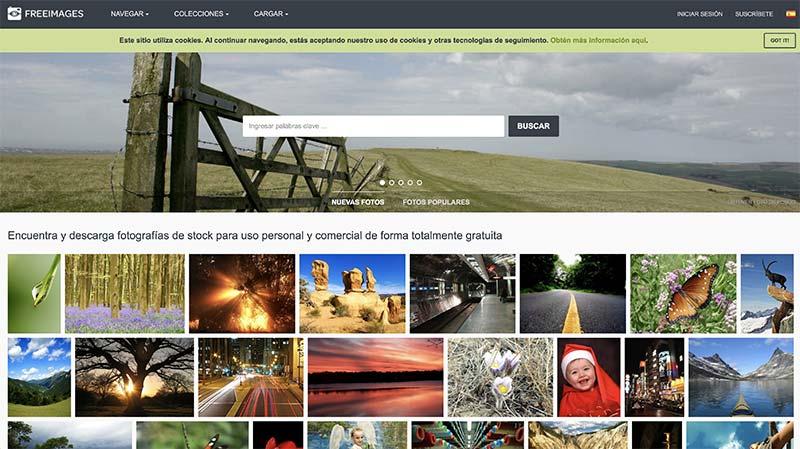 Freeimages banco de imágenes gratuito