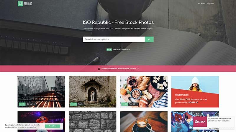 Iso Republic banco de imágenes gratuito