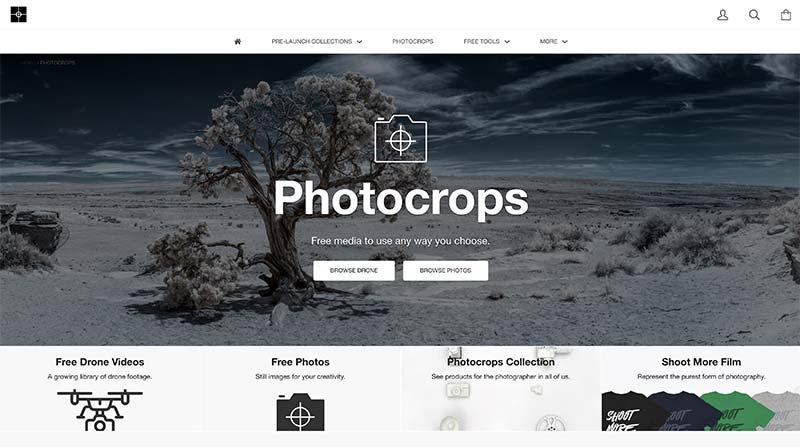Photcrops banco de imágenes gratuito