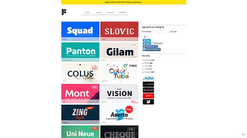 Font Fabric