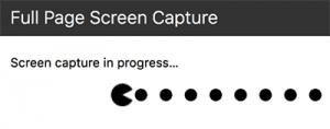 Capturar página web completa en proceso