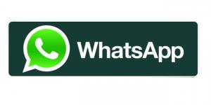 Logo de Whatsapp con tipografía Helvética