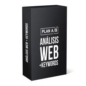 Análisis web + palabras clave