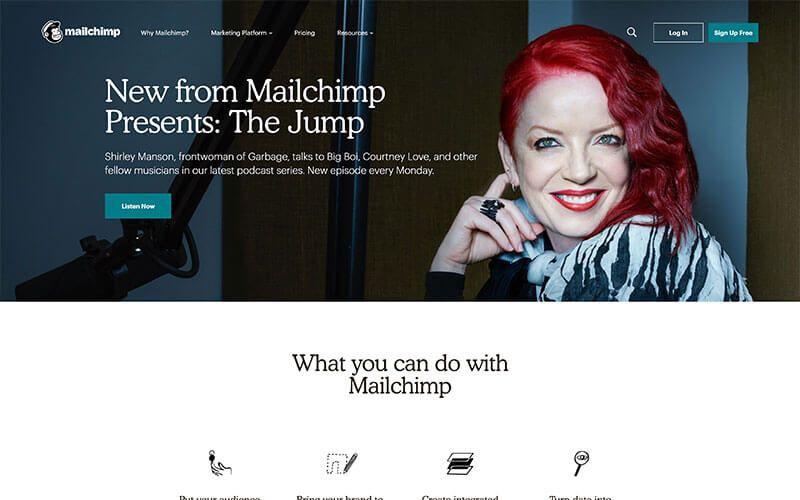 Mailchimp herramienta de email marketing