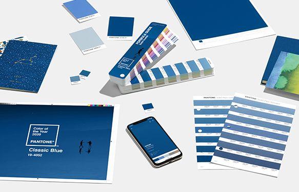 Pantone 2020 diseño gráfico y packaging