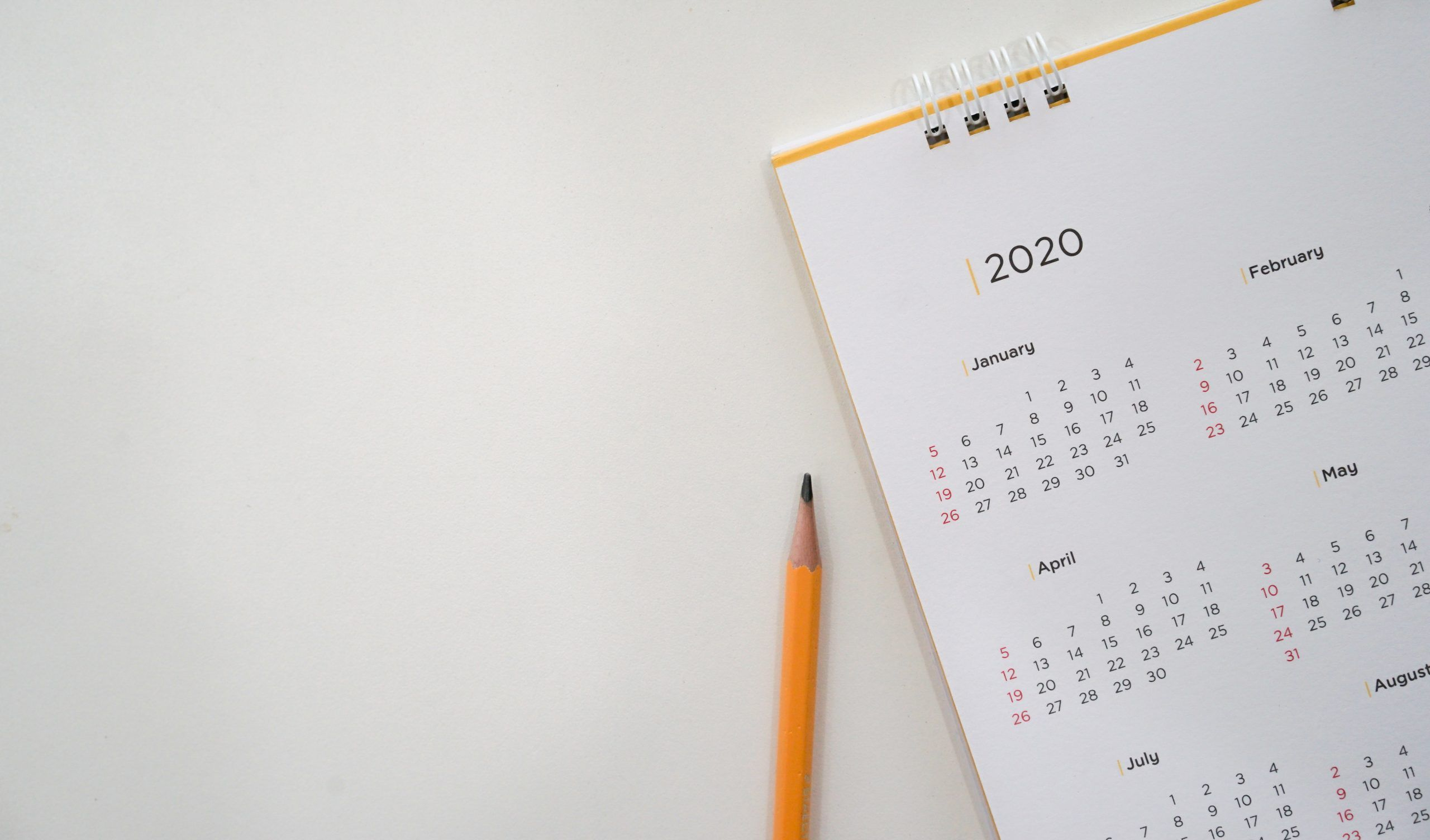 Calendario editorial en redes sociales