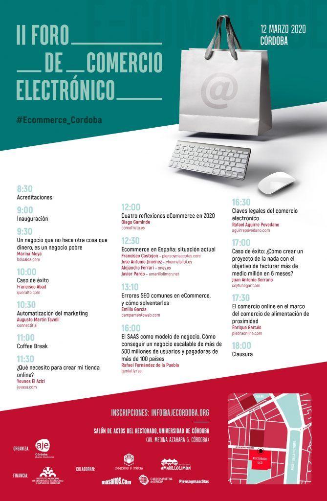 Programa del II Foro de comercio electrónico de Córdoba