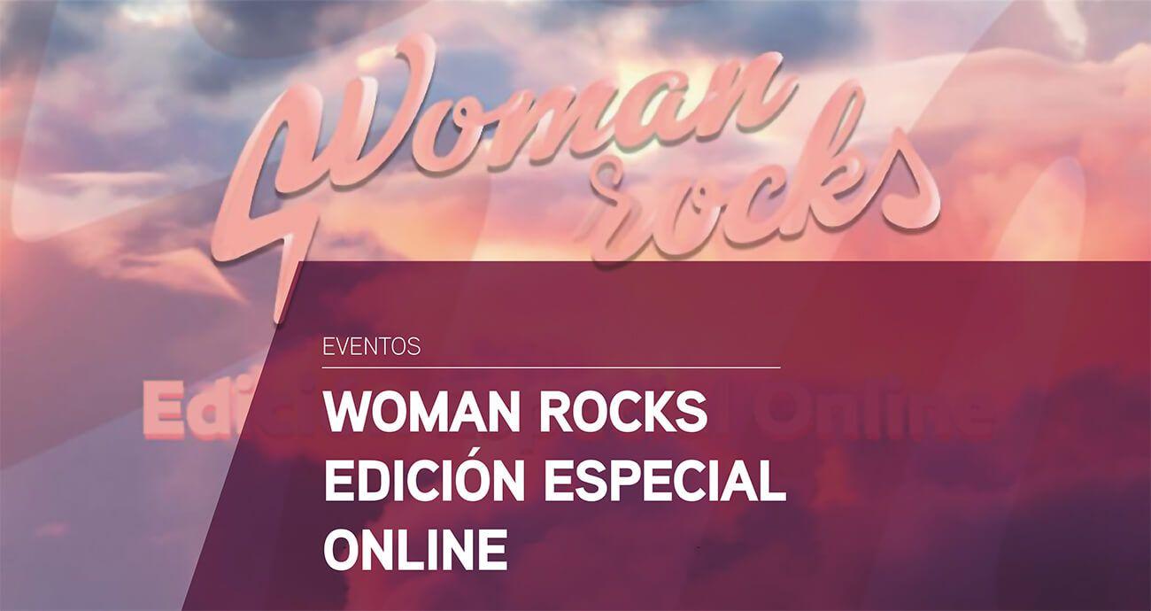 Evento Woman rocks edición especial online