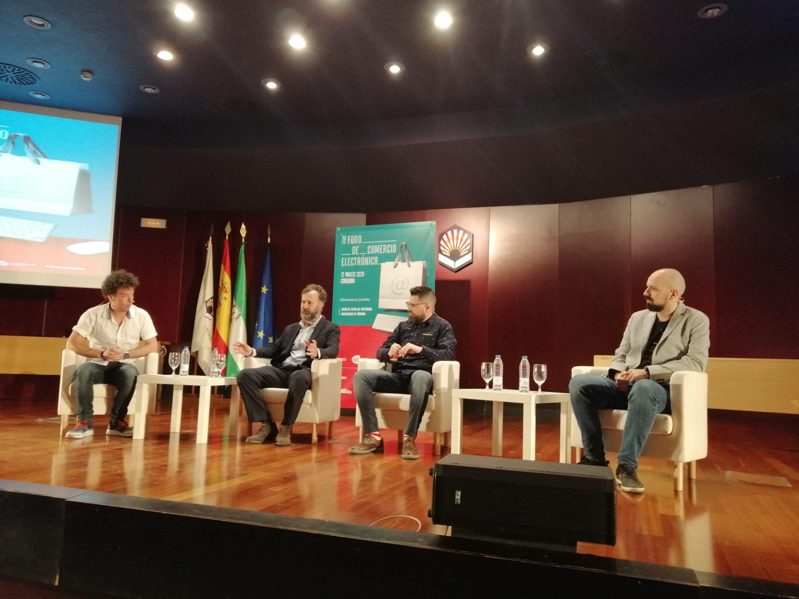 Mesa redonda II Foro comercio electrónico de Córdoba