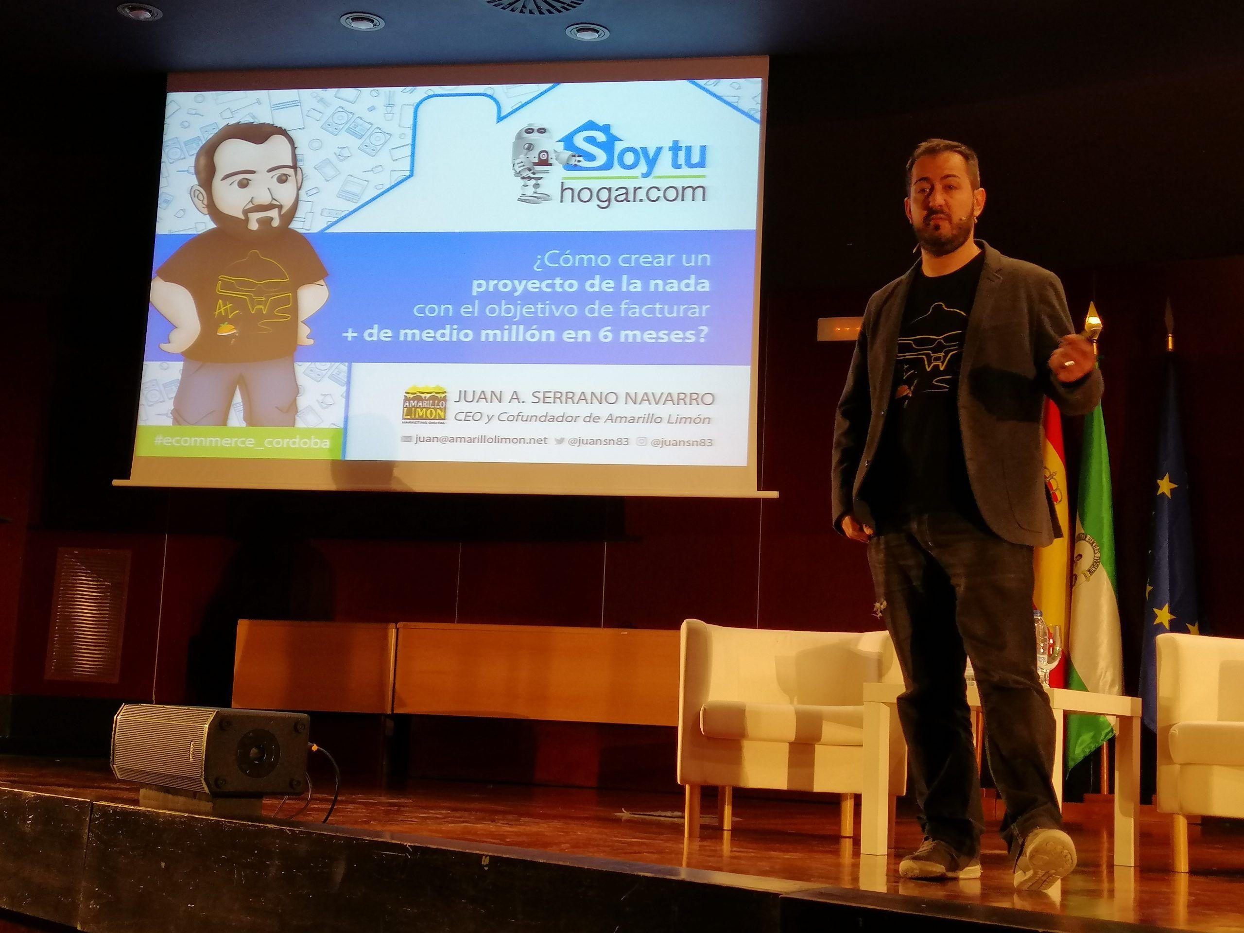 Soytuhogar en el II Foro de comercio electrónico de Córdoba