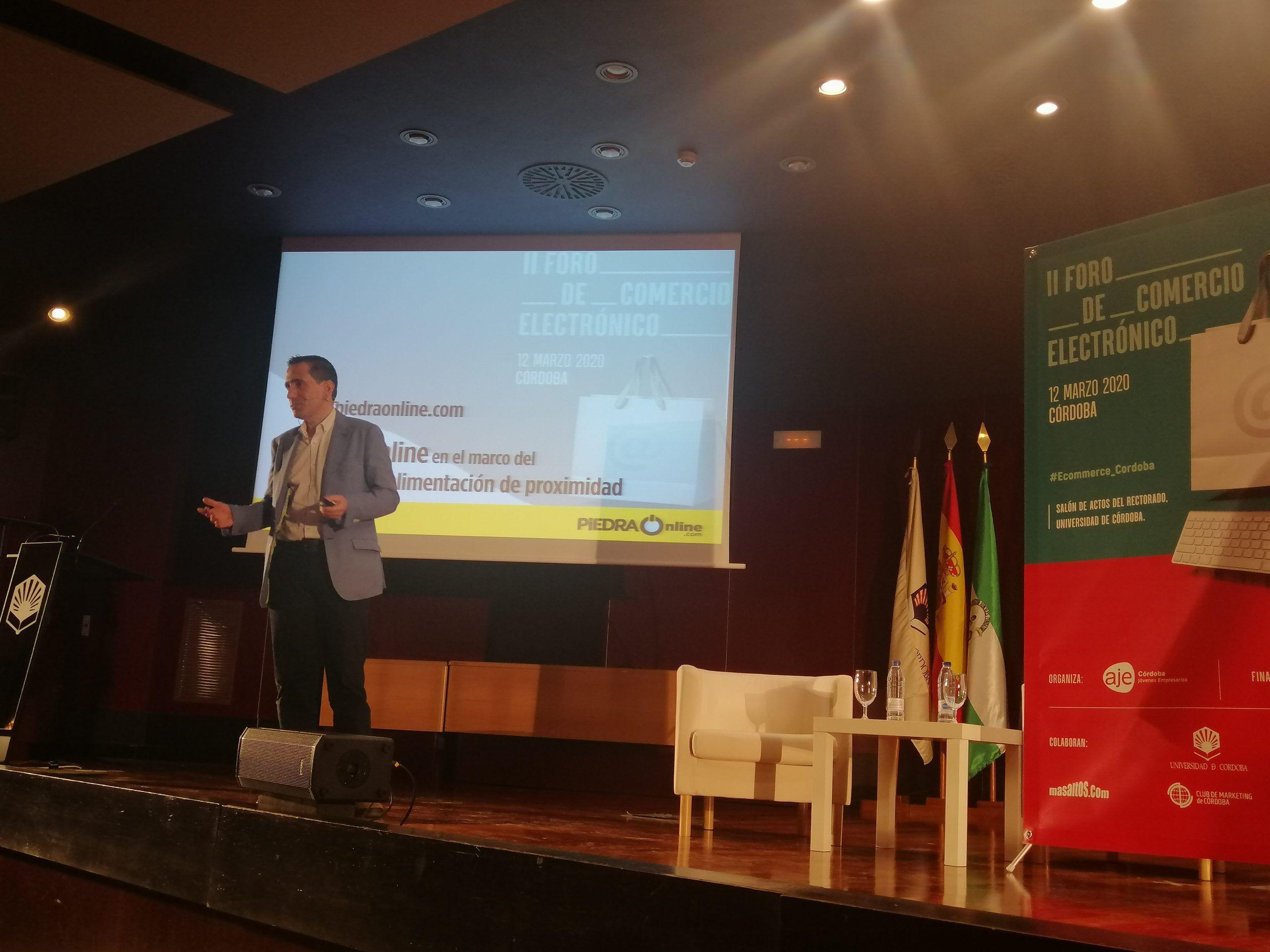 piedraonline.com en el II Foro de comercio electrónico de Córdoba
