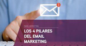 Los 4 pilares del email marketing