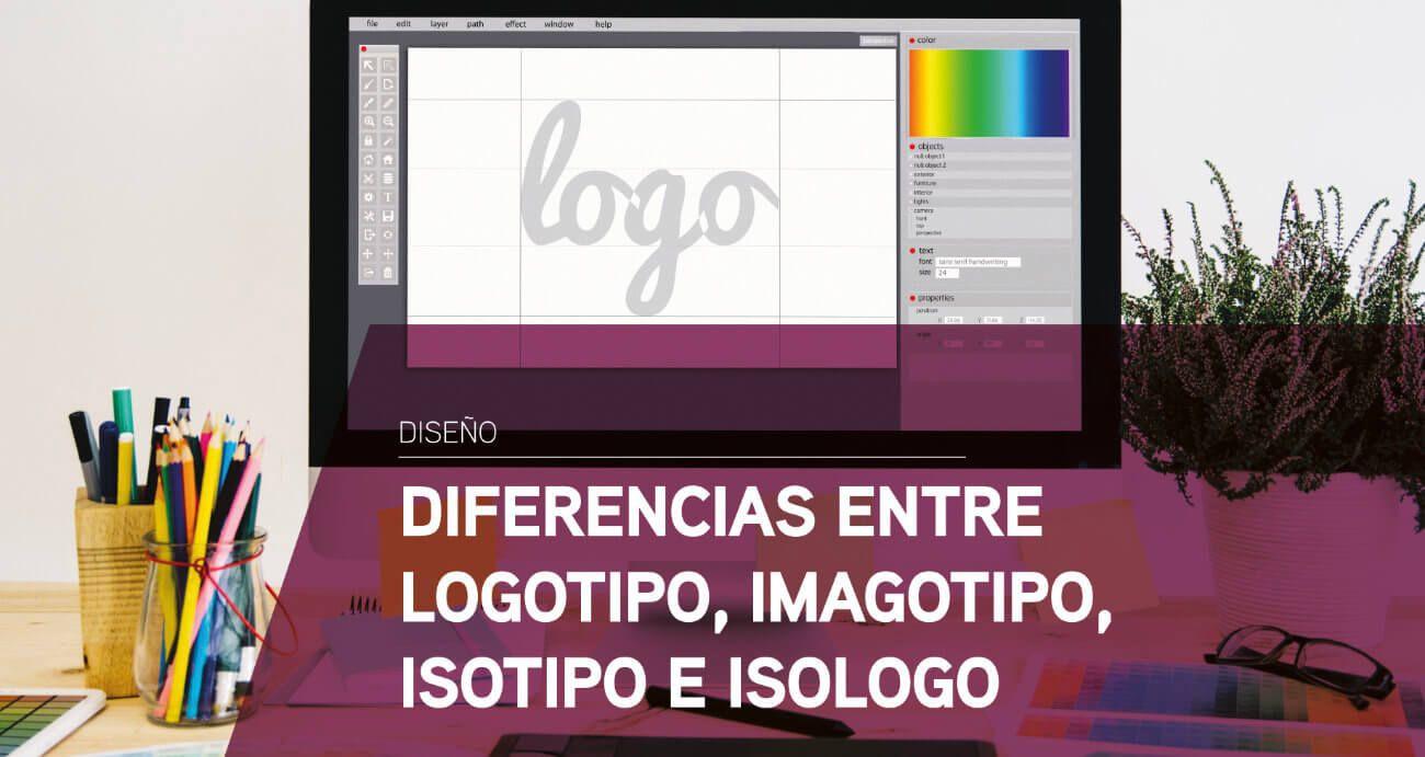 Diferencias entre logotipo, imagotipo, isotipo e isologo