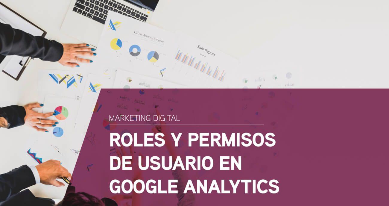 roles y permisos usuario google analytics
