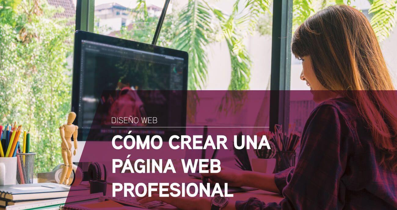 Cómo crear una página web profesional