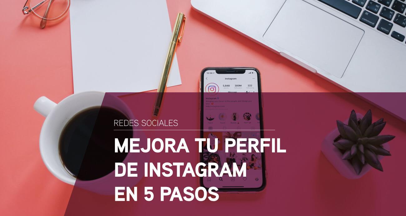 mejorar perfil de instagram
