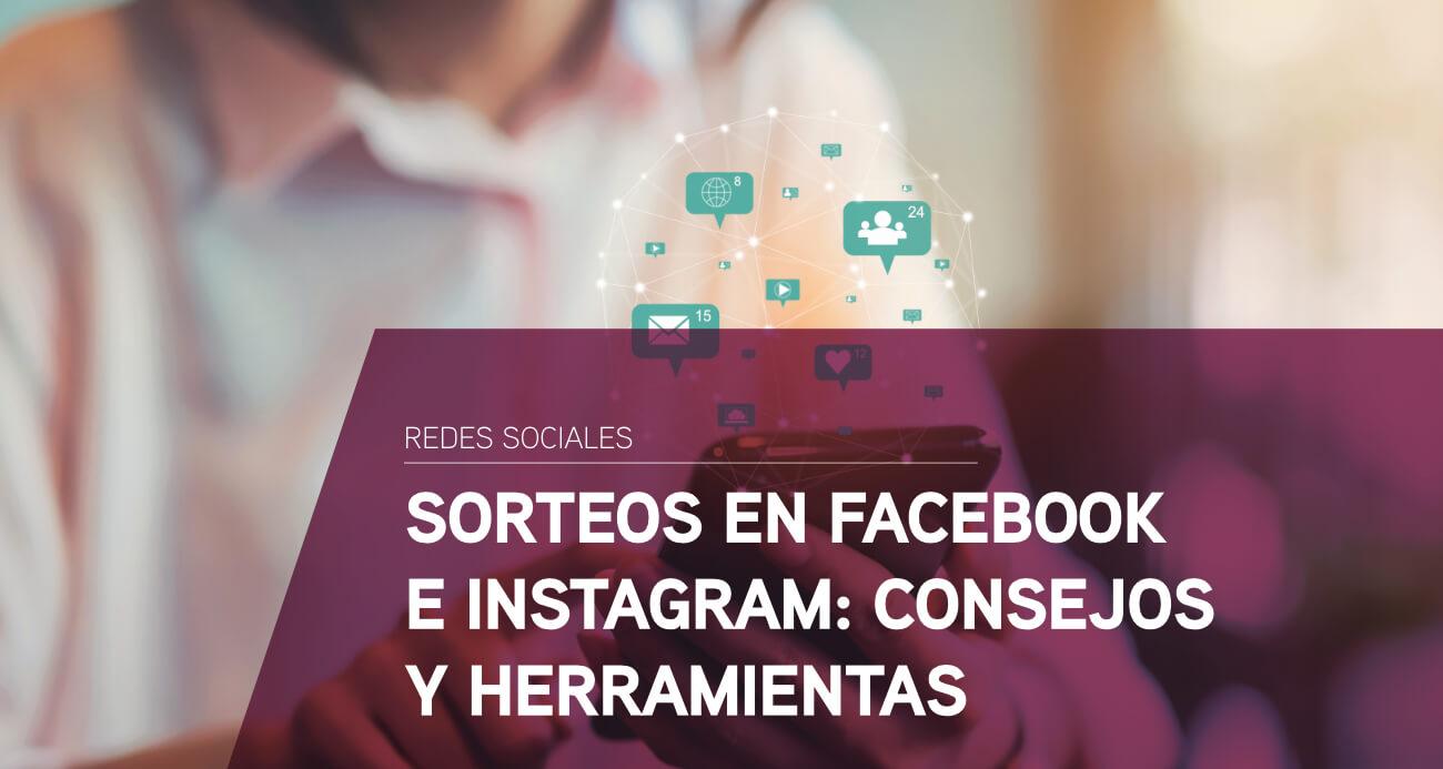 como hacer sorteos facebook instagram