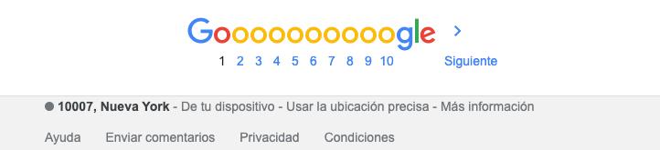 cambiar ubicacion de google chrome